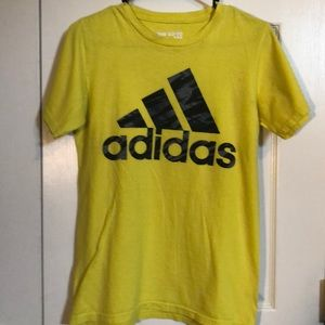 Boy's, size small, adidas, shirt sleeved tee